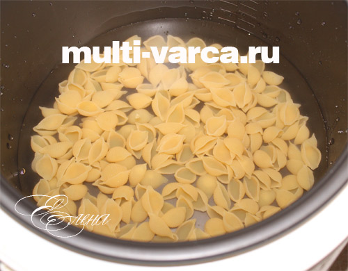Как приготовить макароны в мультиварке редмонд