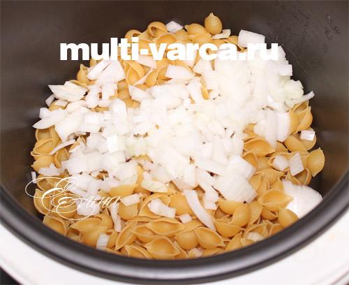 Как приготовить макароны с сосисками в мультиварке