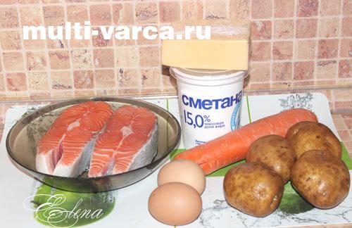 Минтай с картошкой в мультиварке панасоник рецепты