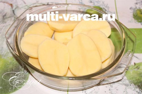 рецепт тушеной картошки с со свининой в мультиварке редмонд
