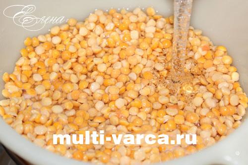 рецепт суп гороховый в мультиварке