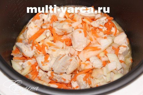 варить гороховый суп в мультиварке