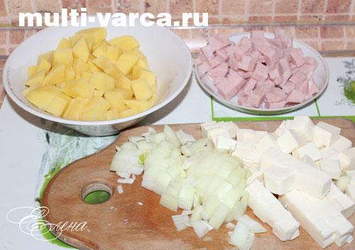 рецепт сырного супа из сырков плавленных рецепт