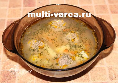 мультиварка-скороварка мулинекс минут кук рецепт супа с фрикадельками