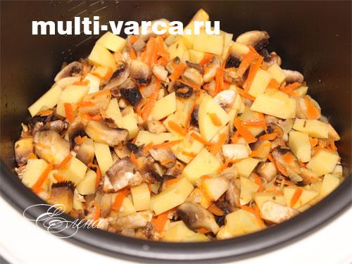 суп из плавленного сыра с грибами рецепт в мультиварке
