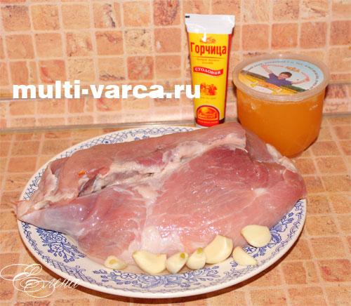 свинина запеченная куском в мультиварке рецепты с