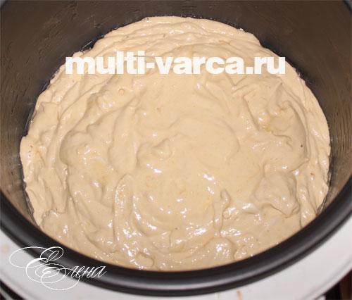 Медовый бисквит в мультиварке пошаговый рецепт с фото