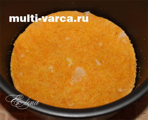 запеканка морковная с творогом в мультиварке рецепты