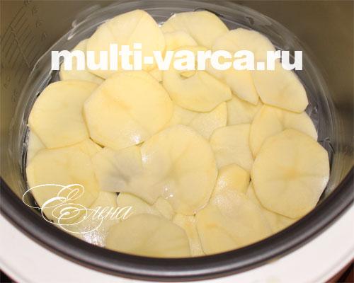 Запеканка из картофеля для мультиварки