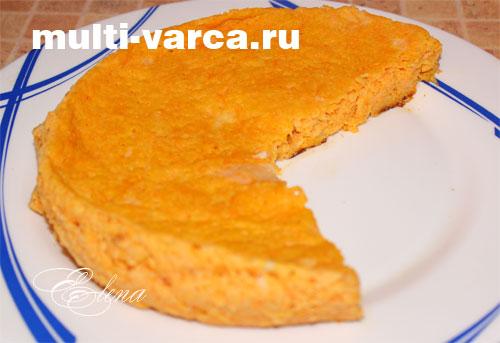 морковная запеканка в мультиварке рецепт с фото