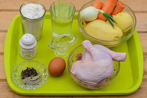 Как приготовить штрудли с курицей и картошкой