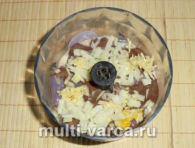 как приготовить суфле из говяжьей печени в мультиварке