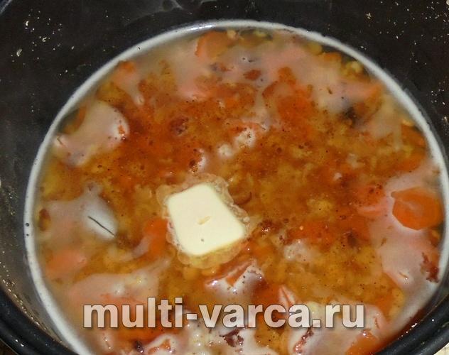 Рецепт гороховой каши пюре с пошагово в