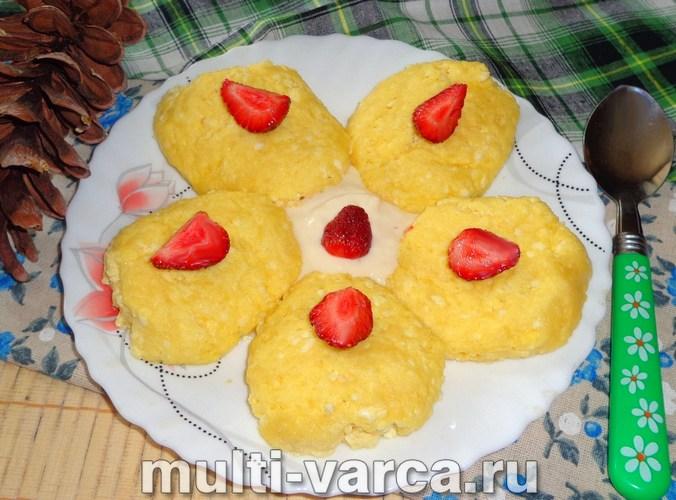 Сырники на пару в мультиварке
