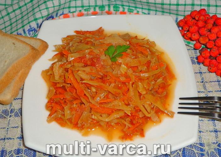 Овощная солянка в мультиварке