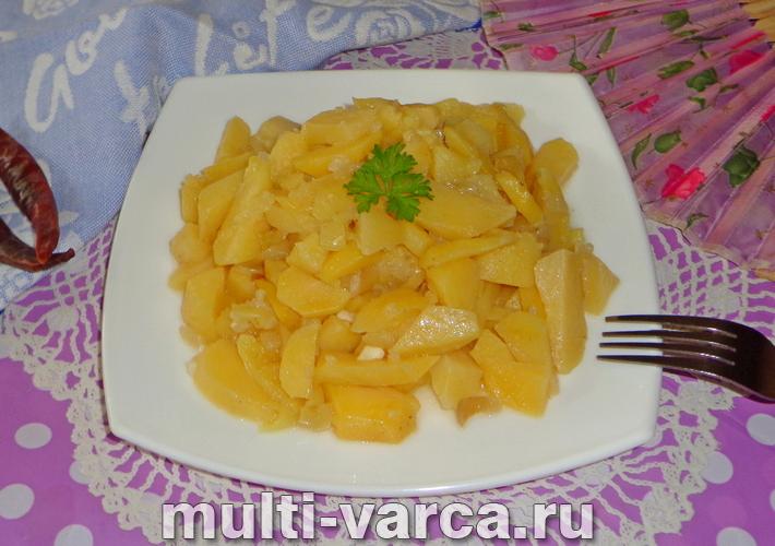 Картошка с перцем в мультиварке