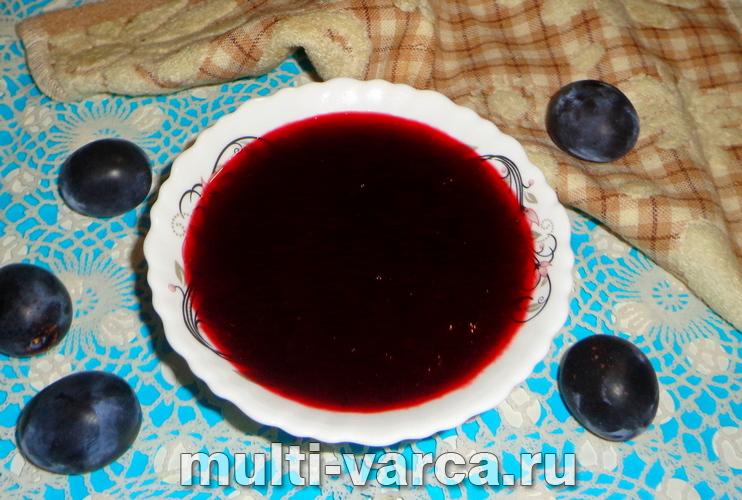 Как приготовить вкусное повидло из слив в мультиварке