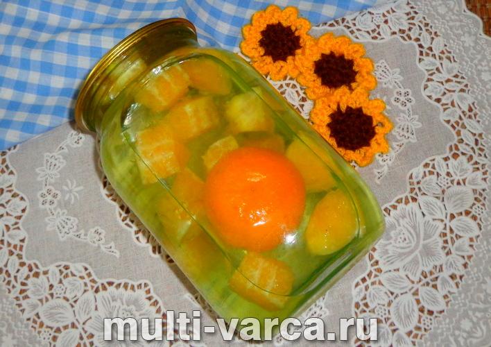Компот из апельсинов на зиму