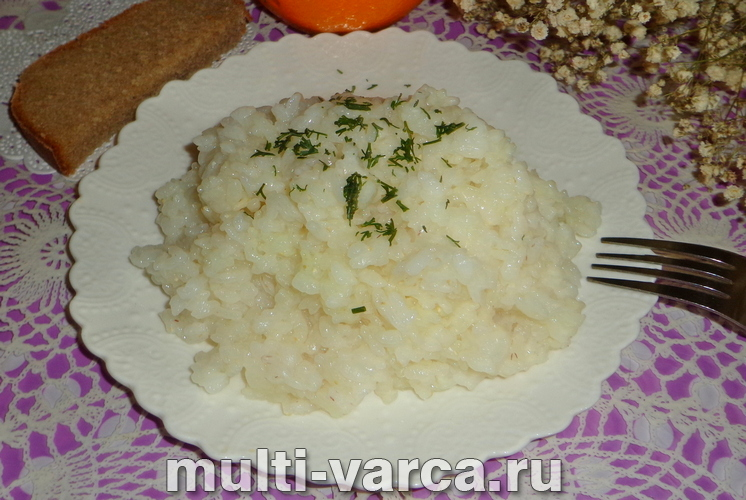 Рис в пакетиках в мультиварке