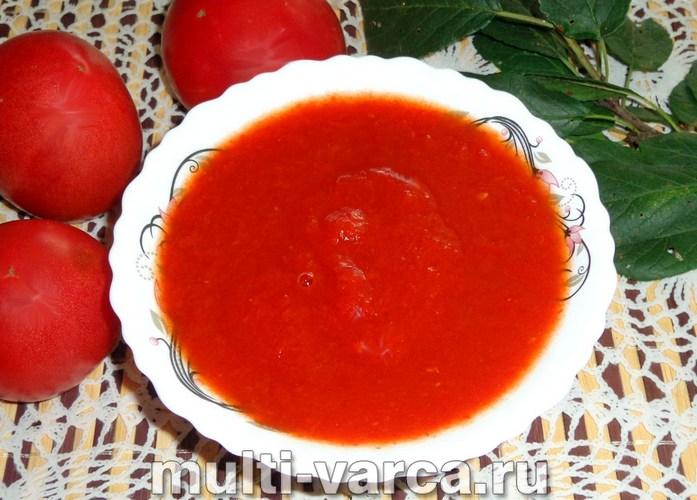 Домашняя томатная паста на зиму