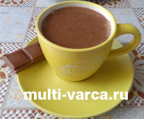 Горячий шоколад в мультиварке
