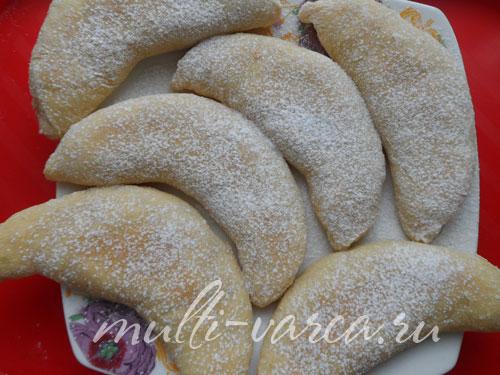 Печенье с начинкой из творога в мультиварке