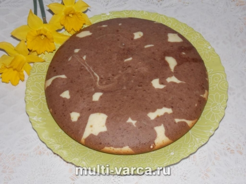 Шоколадный кекс на молоке в мультиварке