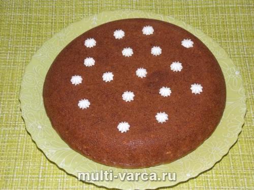 Пирог из моркови в мультиварке