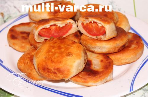 Вкуснейшие пирожки бомбочки с помидорами