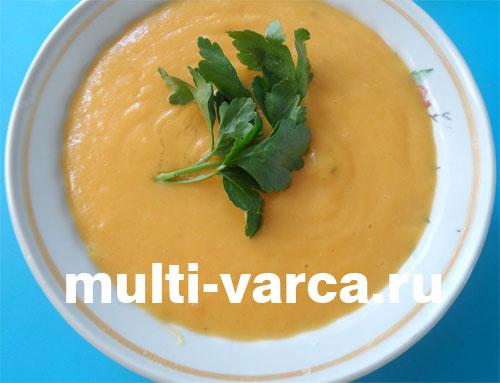 Картофельный суп-пюре в мультиварке