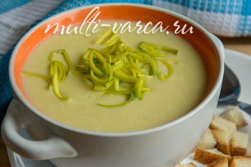 Французский картофельный суп-пюре в мультиварке