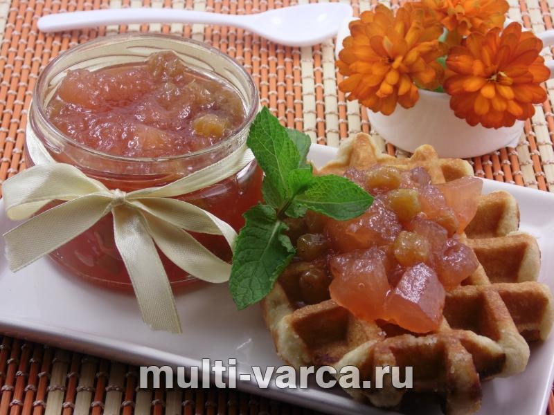 Варенье из яблок и винограда в мультиварке