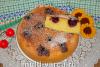 Пирог с черешней в мультиварке