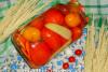 Помидоры с морковью и перцем на зиму