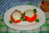 Яйца в помидорах в мультиварке