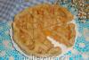 Слоеный пирог с яблоками в мультиварке