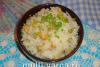 Рис с горошком и кукурузой в мультиварке