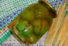 Фаршированные зеленые помидоры на зиму