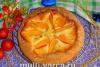 Пирог с хурмой в мультиварке