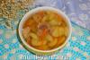 Гречневый суп с тушенкой в мультиварке