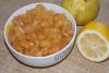 Варенье из айвы с лимоном в мультиварке
