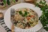 Куриные ножки с замороженными овощами и рисом