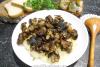 Жареные грибы с луком в мультиварке
