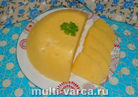 Сыр из творога в мультиварке