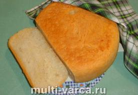 Хлеб с чесноком в мультиварке