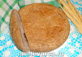 Льняной хлеб в мультиварке