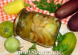 Как приготовить салат из жареных овощей на зиму