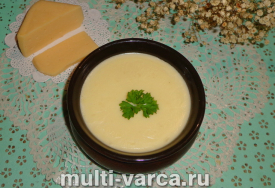 Сырный соус в мультиварке