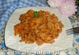 Солянка с рисом в мультиварке