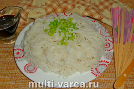Рисовая лапша в мультиварке